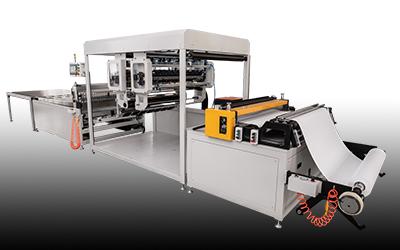玻纤胶线机/无隔板折纸机(大褶高,摆床式)